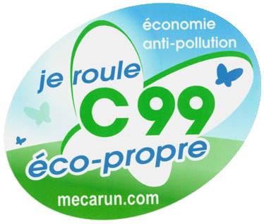C99, je roule éco-propre